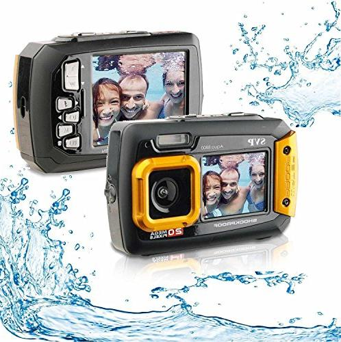 SVP - UnderWater Digital recorder Orange