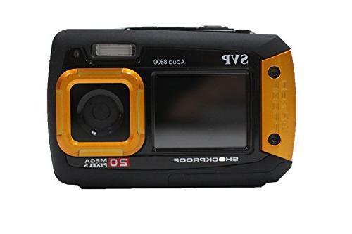 SVP 20MP - 8800 Digital Camera recorder Orange Color By SVP