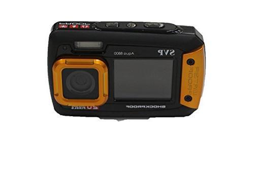 SVP 20MP Waterproof - Digital Orange Color SVP