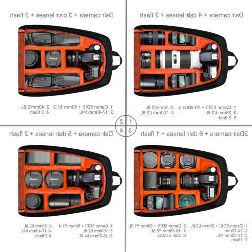 Bag Backpack Camera Case Outdoor Digital DSLR Photo