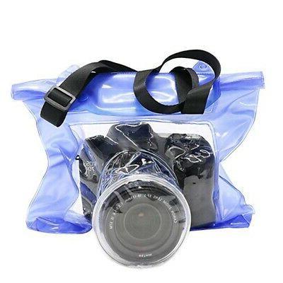waterproof camera underwater diving phone bag case