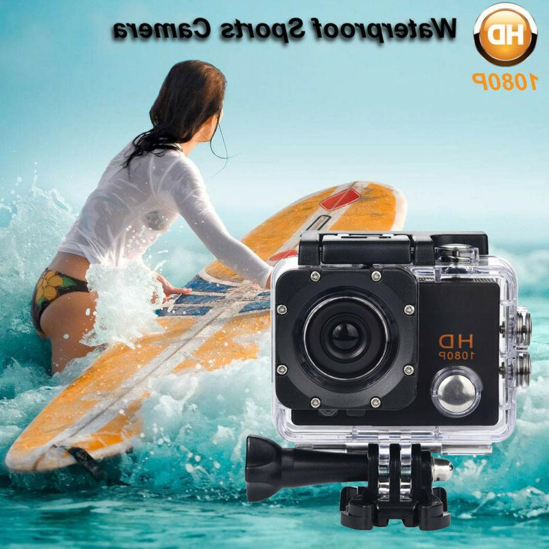 Waterproof Camera Sport Cam Video BK USA