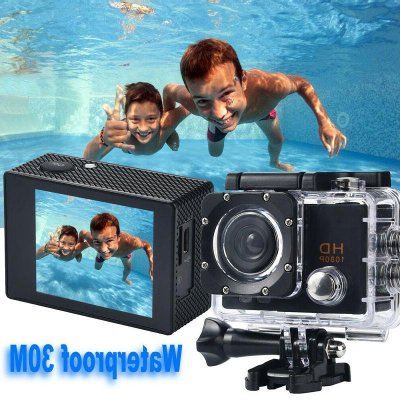 Action Camera 1080P Sports Cam with