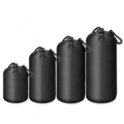 Waterproof Universal Camera Lens Bag Padded Pouch Protector