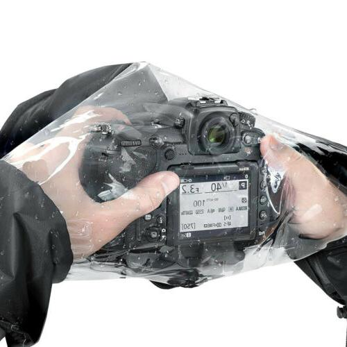 Black Rain Cover Camera Protection Rainproof for Canon Other