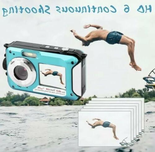 Waterproof Camera 10 FT HD Zoom