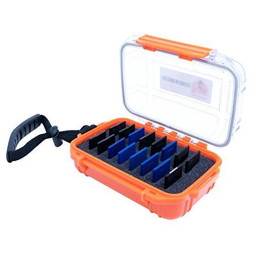 waterproof card sd case