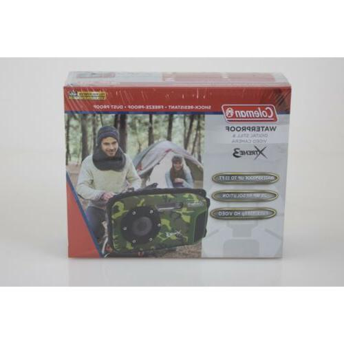 Waterproof MP HD Video 33ft Zoom Coleman Xtreme