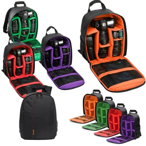 Camera Bag Backpack Waterproof Shockproof For Canon EOS Sony