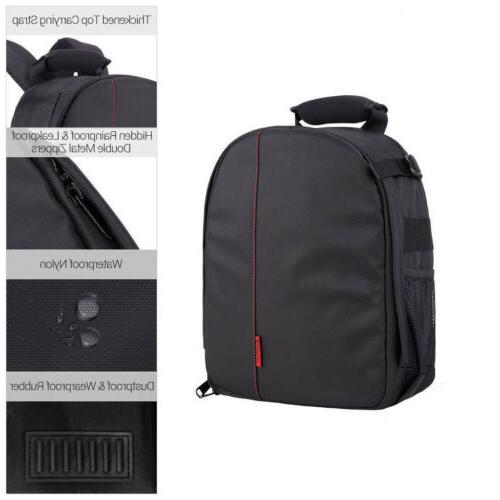 Waterproof Camera Backpack Shoulder Canon