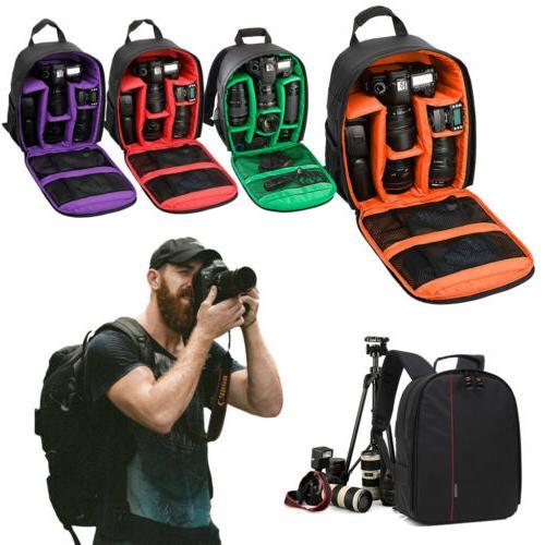 Waterproof Camera Bag Backpack Canon Sony