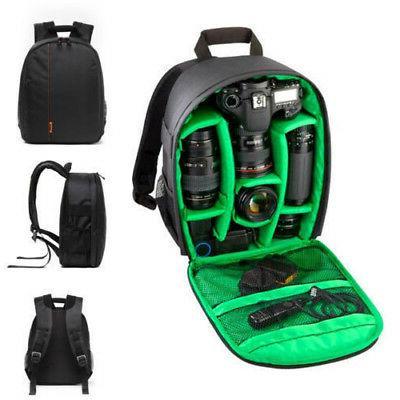 waterproof dslr backpack shoulder bag