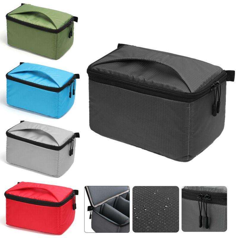 Waterproof Portable Padded DSLR Case Camera Bag SLR Cover In