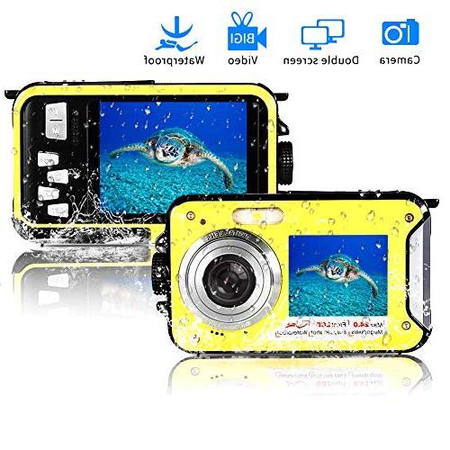 waterproof fhd underwater selfie