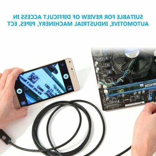 Waterproof Inspection Snake Scope Endoscope Andorid Phone