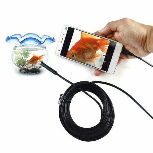 waterproof inspection camera boroscope snake scope endoscope