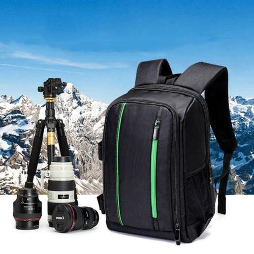 Waterproof Large DSLR Camera Backpack Shoulder Bag