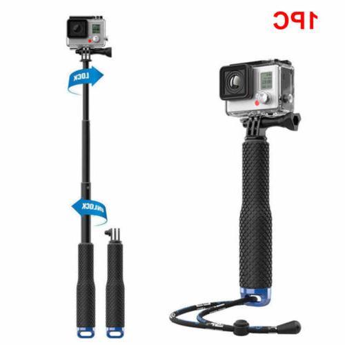 Waterproof Monopod Tripod Selfie Stick Pole Handheld FITS Go