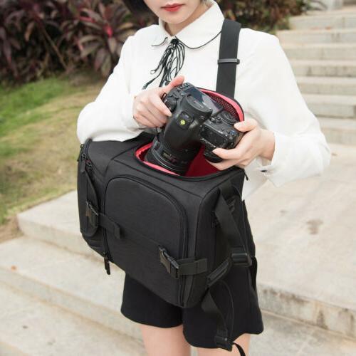 Waterproof Camera Backpack Bag for Canon Nikon DSLR