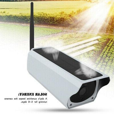 Waterproof Solar WiFi Security IP67 Camera