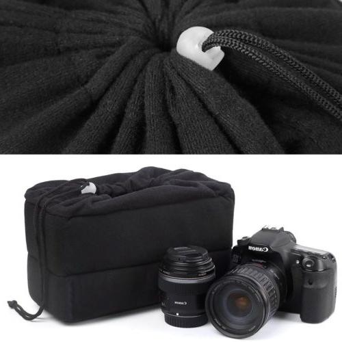 Waterproof Partition Padded Bag Insert Lens