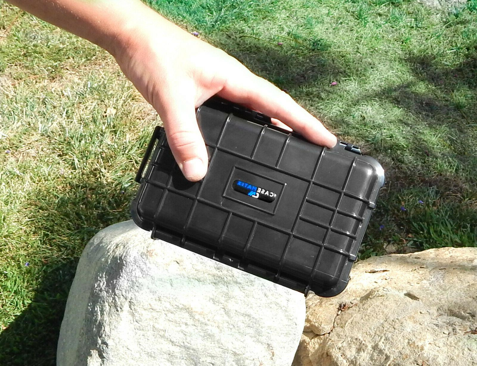 Waterproof Point Camera Case Fits COMI TECH to 6.0""