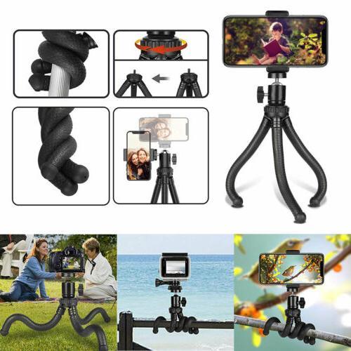 waterproof portable mini flexible tripod stand mount