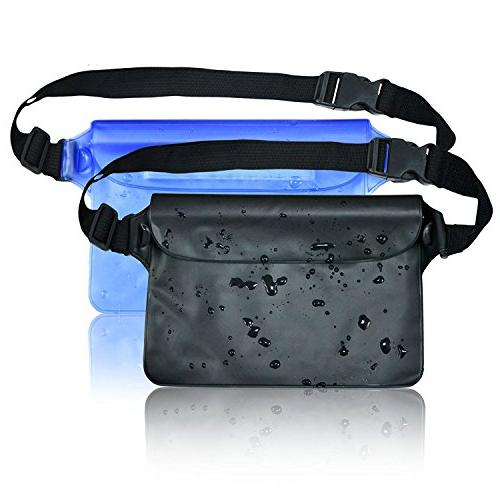 Waterproof Pouch Strap Way to Your Phone and Valuables Dry | for Boating Beach Pool Water Parks