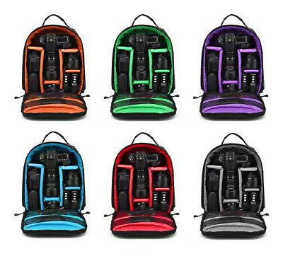 waterproof shockproof bag backpack for canon eos