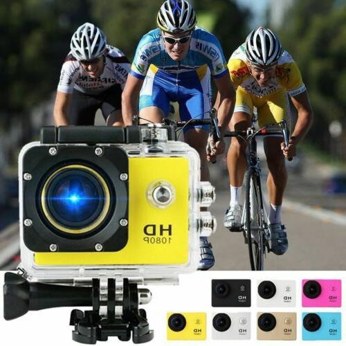 1080P Ultra HD Sport Action Camera DVR DV Helmet Cam Waterpr