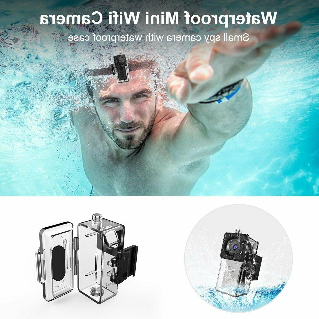 Waterproof Spy Camera Wireless Full Hd 1080P Portable N