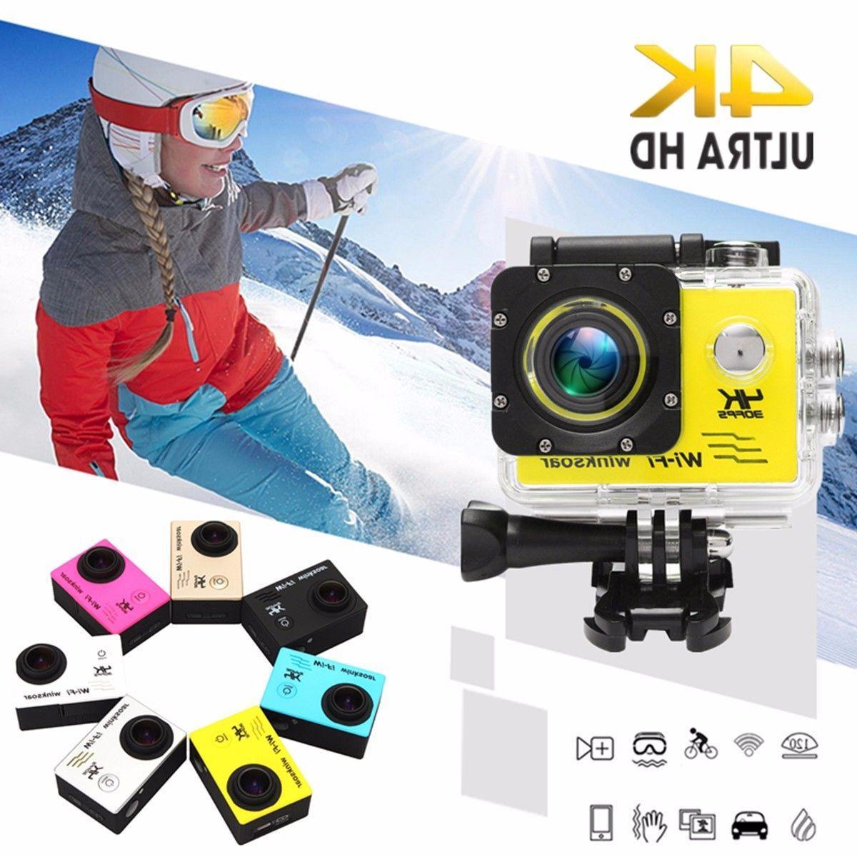Waterproof Wifi Action Camera DVR Camcorder