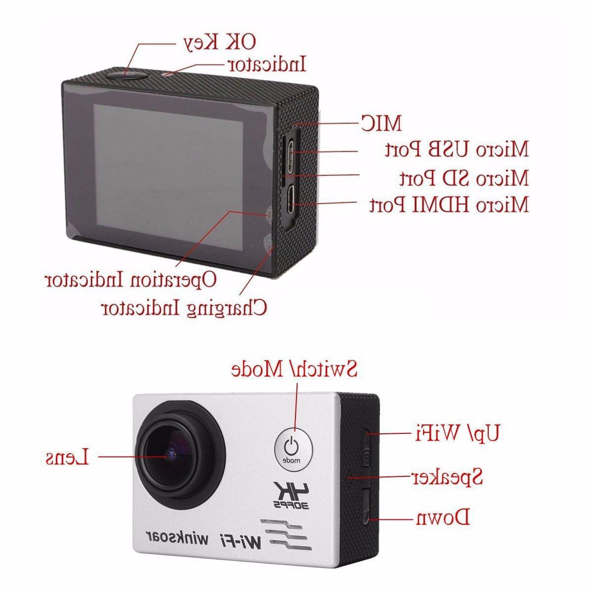 Waterproof Wifi HD Action DVR Camcorder