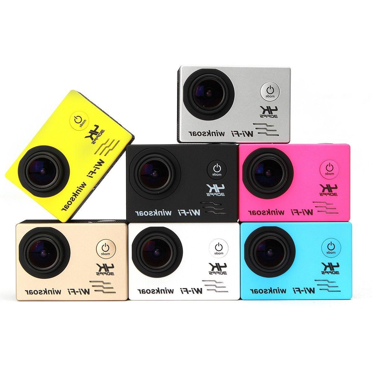 Waterproof Ultra Wifi 1080P HD Action DVR Camcorder