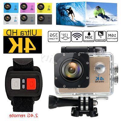 Waterproof Ultra 4K Wifi HD Camera DVR Control