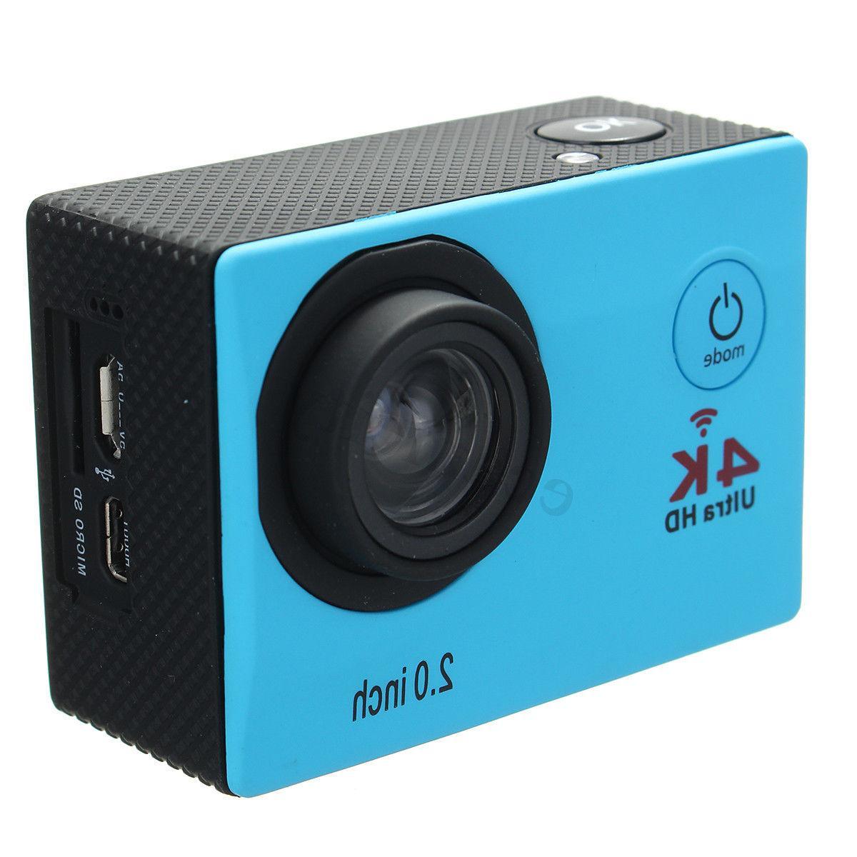 Waterproof HD Sports Camera Control
