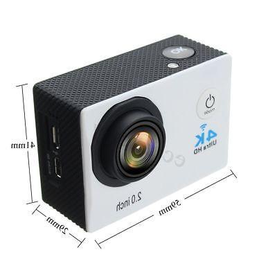 Waterproof Ultra HD Camera DVR Control