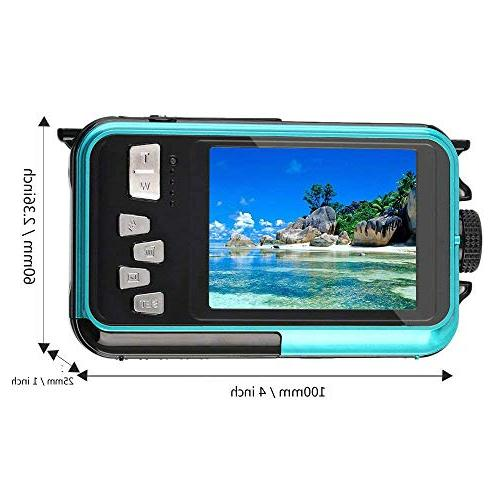 Waterproof Digital 1080P Full Camera 24 Selfie Screen Recording Waterproof