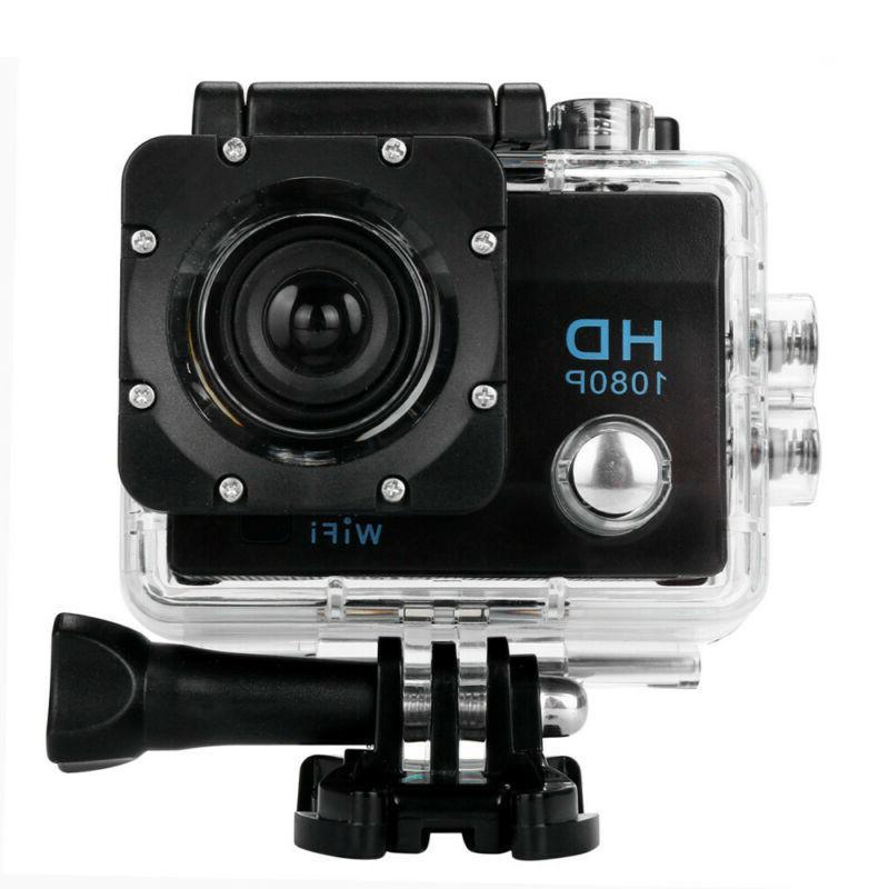 Waterproof 1080P Ultra Camera Camcorder BK