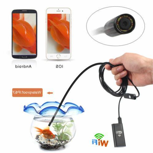 WIFI Wireless Waterproof Endoscope iPhone US
