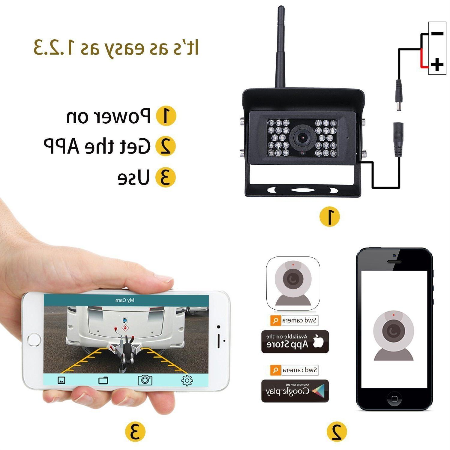 WiFi Wireless View 28IR LED For iPhone Android