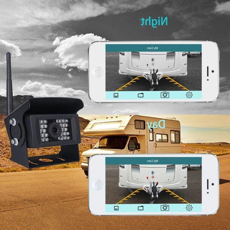 WiFi Rear View Camera 28IR LED Android