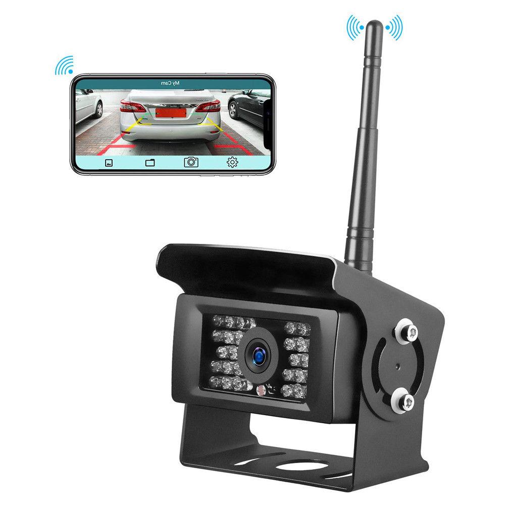 WiFi View Backup Camera LED iPhone