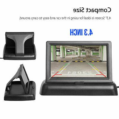 Wireless Backup and Monitor Kit Rear System Vision