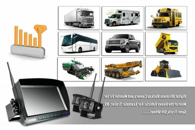 "Wireless Digital Camera 7"" Split Truck"