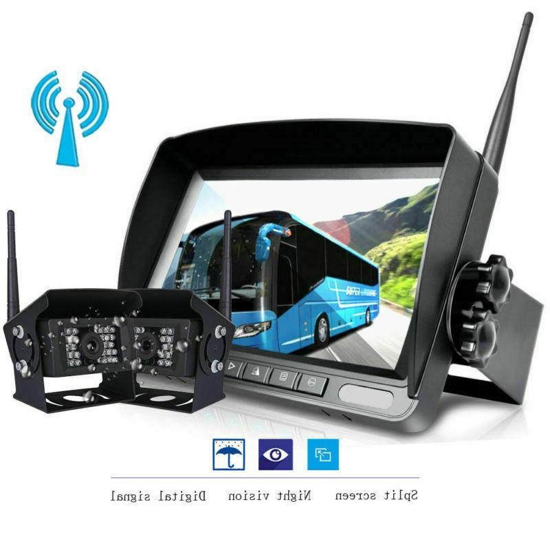 Wireless Camera Screen For RV Truck