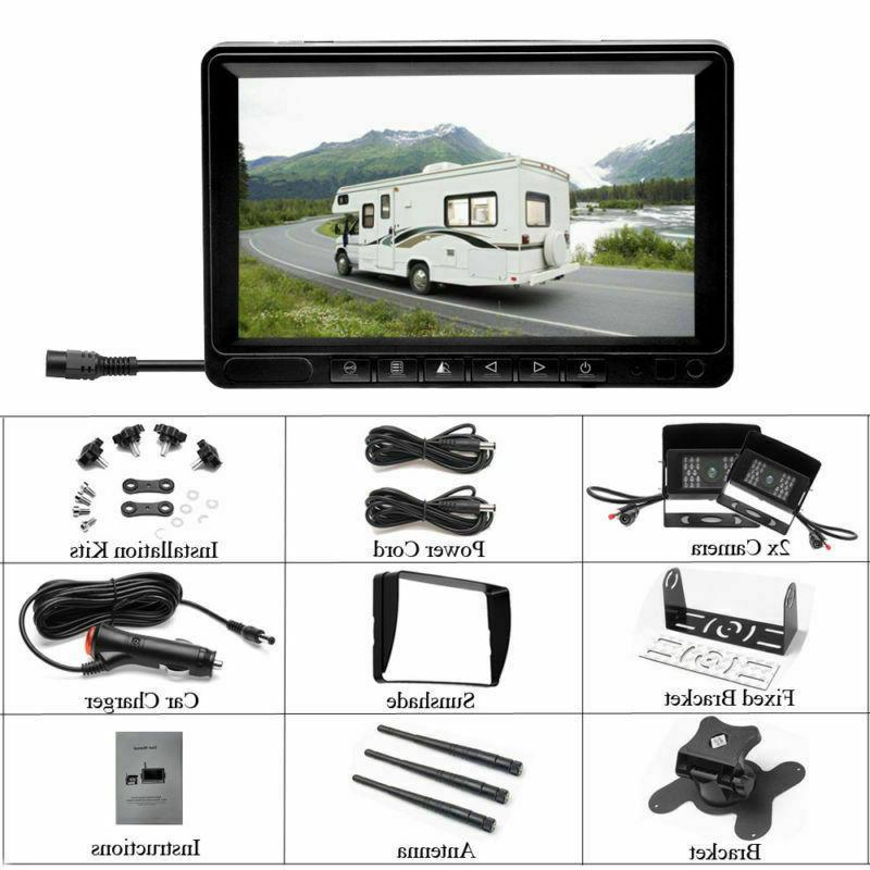 Wireless Digital Camera Screen Monitor Truck