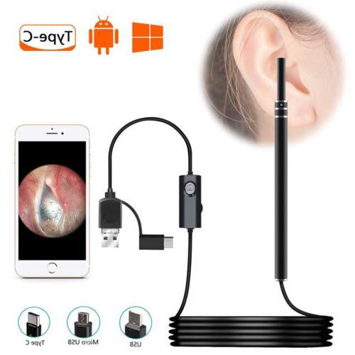 wireless otoscope waterproof digital ear check camera