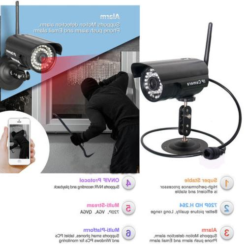 Wireless Outdoor IR-Cut IP Camera Wifi
