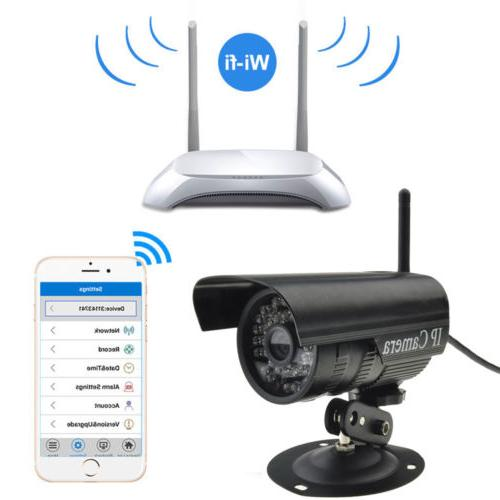 Wireless Outdoor IR-Cut Security Camera